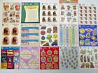Stickers Christian Religious Vintage 6 Sheets Per Pack You Pick