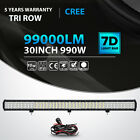 Tri Row 9121420233136inch 18w Led Work Light Bar Offroad Truck Suv