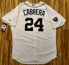 2011 Authentic Miguel Cabrera Detroit Tigers Jersey 52 Home White