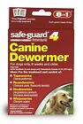 Safe Guard Canine Dewormer for Large Dogs 4gram Puppies Pet Top Quality
