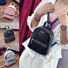 Fashion Women Girls Leather Backpacks Mini Travel Rucksack Handbags Sc