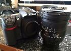 Nikon D300 123MP Digital SLR Camera with Sigma 24 135 f28 lens