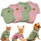 Small Dog T Shirt Chihuahua Clothes Cotton Costumes Apparel for Pet Puppy Cat
