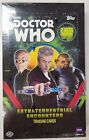 TOPPS BBC DOCTOR WHO EXTRATERRESTRIAL ENCOUNTERS BOX 24 PACKS FACTORY SEALED