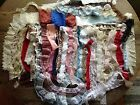 Lot of Vintage Lace Trim 60 Pcs All Less Than 1 Yd Sewing Doll Clothes Scrapbook