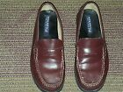 SPERRY TOP SIDER WOMEN PENNY LOAFERS US US  5 M SOLID BROWN LEATHER