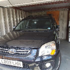 LARGER PHOTOS: KIA SPORTAGE XS 4x4 BLACK spares or repair