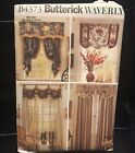 Curtain Valance Shade Sewing Patterns (lot Of 4) Butterick Waverly McCalls Uncut