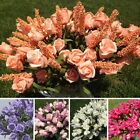 Artificial Fake Roses Flower Bridal Bouquet Wedding Party Home Decor Office
