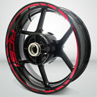 Honda RC51 Motorcycle Rim Wheel Decal Accessory Sticker