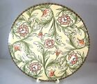 ONEIDA EDEN SALAD PLATE STONEWARE Pasta Pink Black Flowers Table Trends Bread