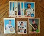 2017 Topps Heritage Baseball Lot 9 SP Mini Chrome Clubhouse