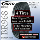 295 80R225 Motor Home Tires Includes Natiowide Installation