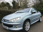 LARGER PHOTOS: Peugeot 206cc Convertible 2004