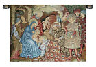 19x25inch Italian Woven Tapestry Wall Hanging Nativity Adoration