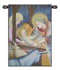 17x12inch Italian Woven Tapestry Wall Hanging Nativity Giotto Left Panel
