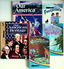 Abeka Lot of 5 Reading 3 Readers  History Our American Heritage 3 Our America 2