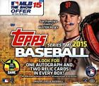 2015 Topps Series 2 Baseball Jumbo Box - Factory Sealed!