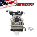 FOR Stock Carb Carburetor 43 49cc 2Stroke Engine 15mmIntake Hole Standup scooter