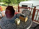 Edison Fireside Cylinder Phonograph model A 2 4 min includes 4 records