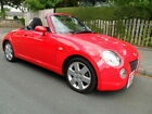 2004 54 DAIHATSU COPEN IMPERIAL RED BLACK SPORT CLOTH POWER ROOF 21000 MILES++