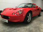 1998 LOTUS ELISE S1 CALYPSO RED 60000 MILES FSH LAST OWNER 10 YEARS