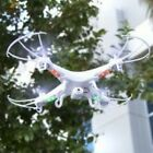 RC 6 Axis Quadcopter Flying Drone Toy With Gyro and HD Camera Remote Control LED