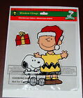 Peanuts Charlie Brown and Snoopy Window Clings