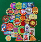 GIRL SCOUT LOT OF GIRL SCOUT COOKIE PATCHES