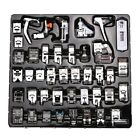 42Pcs Presser Foot Feet For Brother Singer Domestic Sewing Machine Part Tool Kit