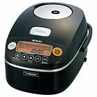 Zojirushi Electric IH Rice Food Cooker Cooked Steamer NP-BU10-BA 5.5Cup Japan