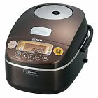 Zojirushi Electric IH Rice Food Cooker Cooked Steamer NP-BC10-TA 5.5Cup Japan
