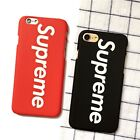 Supreme Phone Case/Cover For All iPhone Models Red Black Brand Logo UK! Free P+P