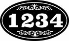 Personalized House Address Sign Plaque Aluminum Wont Fade Peel or Chip