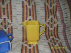 VINTAGE HOMER LAUGHLIN  RIVIERA  YELLOW TALL BATTER JUG                  -t23