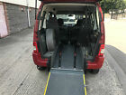 Citroen Berlingo Wheelchair access disabled mobility accessible wav
