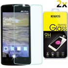 [2-Pack]-KS For ZTE N817 (Sprint) Premium HD Tempered Glass Screen Protector