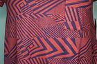 LuLaRoe Carly Dress size XS Pink Red and Blue Designs