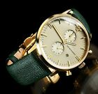 MSRP $445 AUTHENTIC EMPORIO ARMANI CHRONOGRAPH GOLD WATCH AR1722