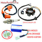Scooter Stator Magneto Racing Ignition Coil CDI Box GY6 50cc Moped ATV Go Kart