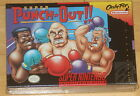 UNOPENED Super Nintendo SUPER PUNCH OUT 1994 PERFECT SHRINK WRAP