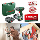 Bosch PSB 1800 LI-2 Cordless Combi Drill with Two 18 V Lithium-Ion Battery