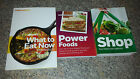 Weight Watchers Plan Points Plus What To Eat NOW Cookbook Shop Power Foods LOT