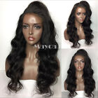 Brazilian Fiber Body Wave Heat Resistant Synthetic Lace Front Wig For BlackWomen