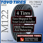 Motor Home Tires 255 70R225 Toyo INCLUDES SHIPPING  INSTALLATION