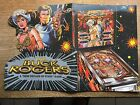 ORIGINAL BUCK ROGERS PINBALL PROMO BROCHURE BY GOTTLIEB-1979 IN PLASTIC COVER