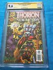 Thorion of the New Asgods #1 - Amalgam - CGC SS 9.6 NM+ - Signed by K Giffen