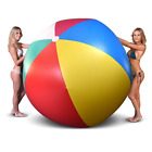 GoFloats Giant Inflatable Large Beach Ball 6ft Diameter Requires a Pump