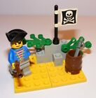 1992 LEGO Pirate Lookout 1696 COMPLETE
