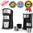 Personal Single Serve Coffee Cup Mug Travel Brew Maker with Reusable Filter US